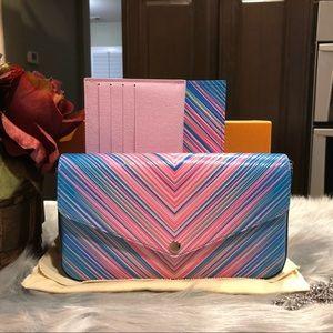 Louis Vuitton Felicie tropical crossbody bag